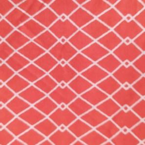 Estampado Geométrico Rojo