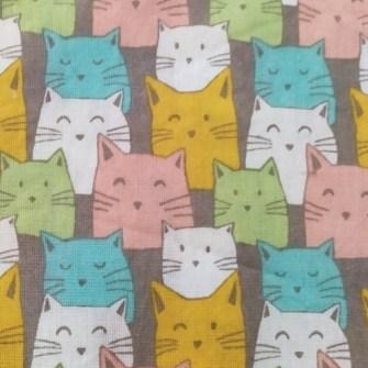 Estampado Gatos