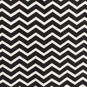 Estampado Zigzag Negro