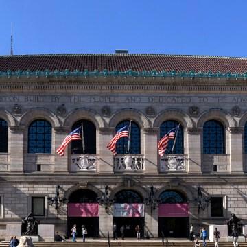 Biblioteca Pública de Boston foto: de.Wikipedia.org