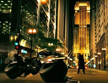 Escena de la película Batman the Dark Night