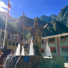 Plaza de Aguas Calientes