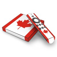 Roku with Canadian flag skin