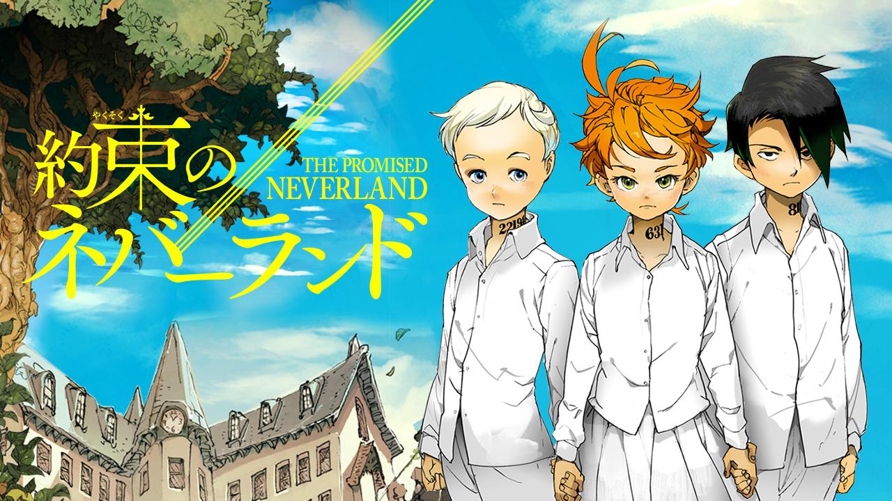 Risultati immagini per the promised neverland anime