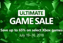 2018 Xbox Ultimate Game Sale