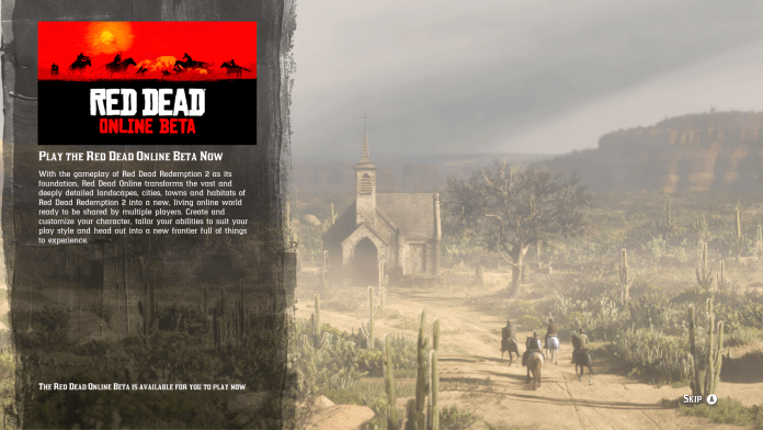 Red Dead Online Beta Impressions – TIC GAMES NETWORK