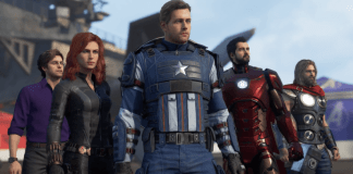 A header for Marvel's Avengers