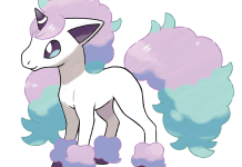 Galarian Ponyta from Pokemon Shield