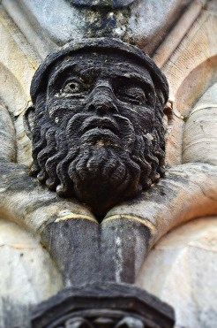 Lausanne Cathedral Face 1
