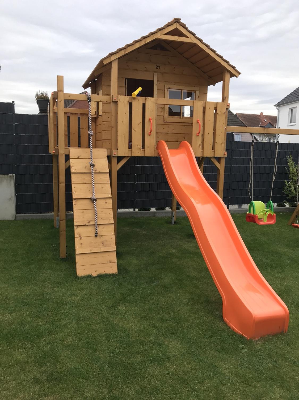 Unser Neuer Colino Spielturm Fur Kinder Tickerverbot