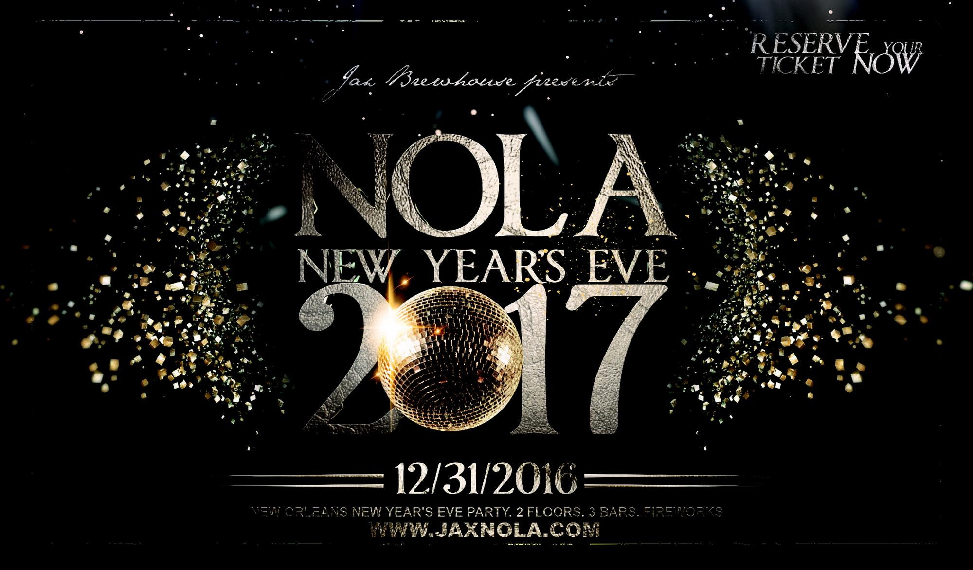 New Orleans NYE 2017   JAX Tickets in New Orleans  LA  United States New Orleans NYE 2017   JAX