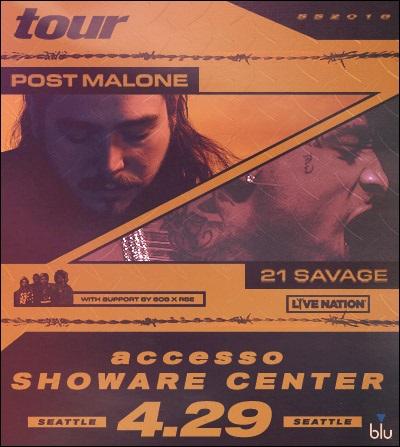 Tickets | Post Malone | accesso ShoWare Center