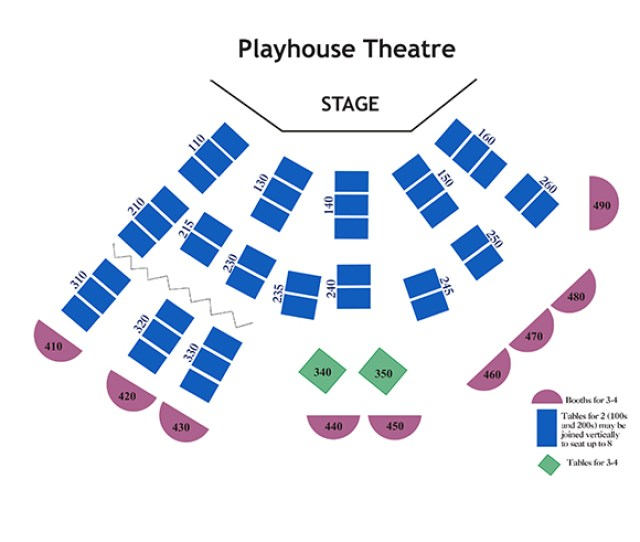 Theatre Seating Charts Chanhassen Dinner Theatres