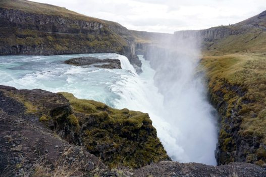 Gullfoss waterfall, in the Golden Circle route