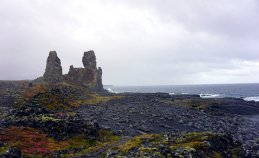 The Lóndrangar Cliffs Hellnar