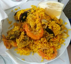 Sea Food and Chicken Paella