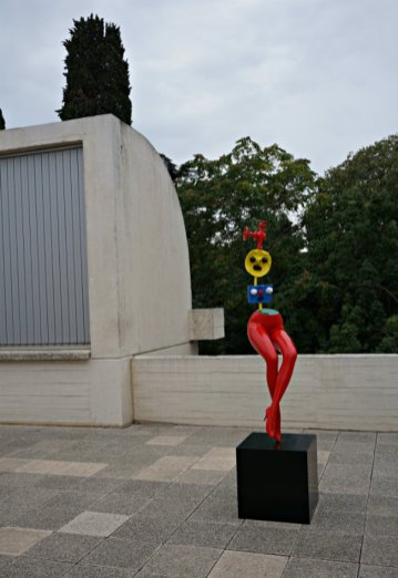 Juan Miro Fundation - Woman Sculpture