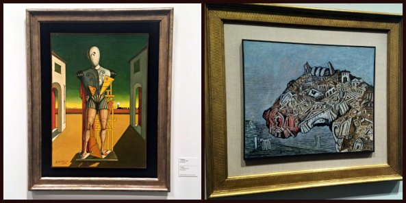 Chirico paintings