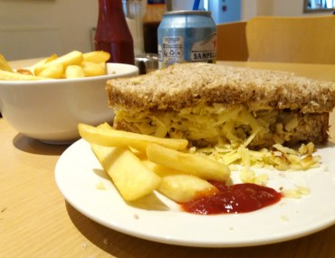 Cheese sandwich - The Cafe, Horsham