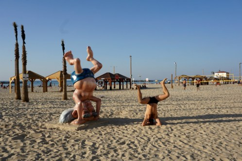 Beach Fun in Tel Aviv