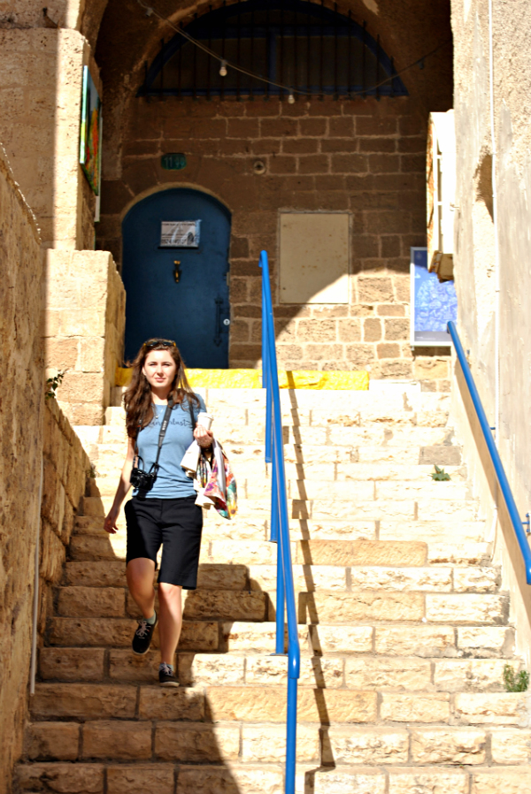 Wandering the alleys of Jaffa