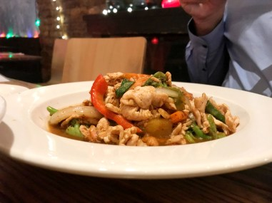 Pad cashew Nut with Chicken