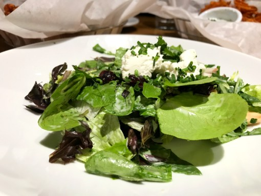 Spinach, Cucumber and Goat Cheese Salad