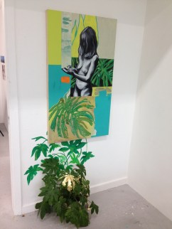 Girl with Plant, 2014