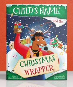 the christmas wrapper cover