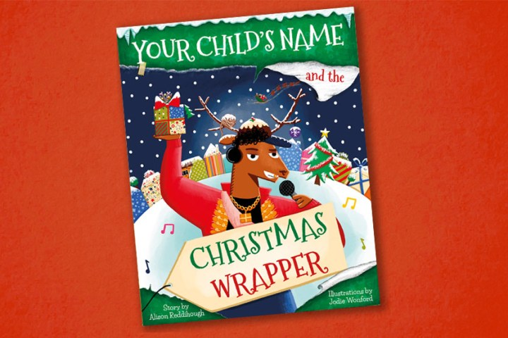 Personalised-book-christmas-wrapper