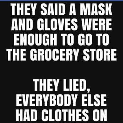 Mask & gloves