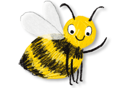 busy-bee-with-shadow