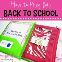 Back to School Prep and Meet The Teacher Night