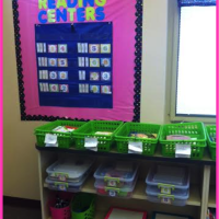 how to set up and store literacy centers