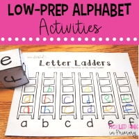 Alphabet Activities and Letter Recognition Practice