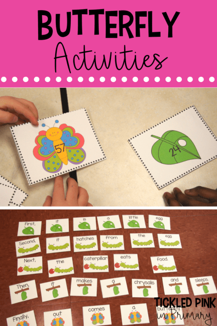 Learn about the Life Cycle of Butterflies using these sequencing resources and by growing your own butterflies. Pair these activities with The Very Hungry Caterpillar for added fun!