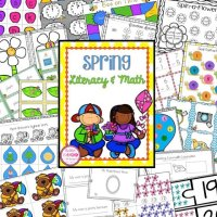 Spring Centers Literacy & Math Activities