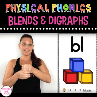 Physical Phonics Blends and Digraphs – Multi-Sensory Learning