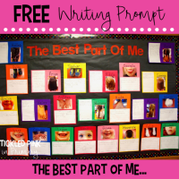 The Best Part of Me – FREE Writing Prompt
