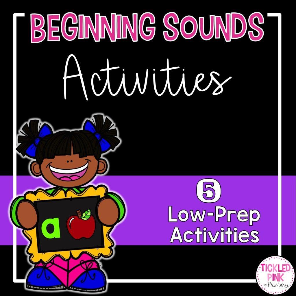 Beginning Sounds Activities Tickled Pink In Primary
