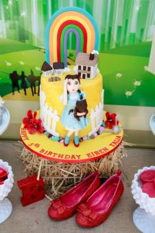 Wizard of oz party-cake