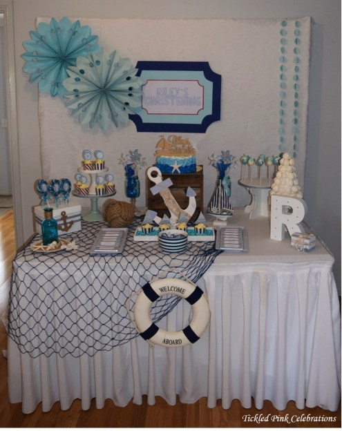 nautical-baptism-christening-cake-party-table