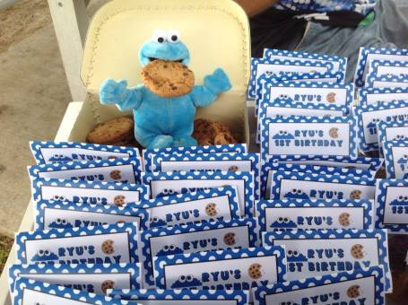 Cookie Monster Sesame street party ideas4