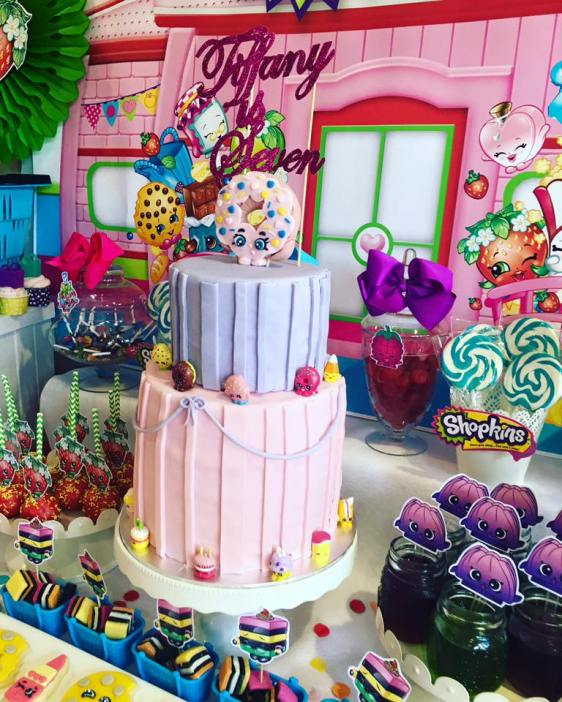Shopkins Girls Party2
