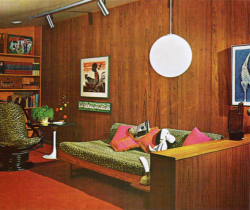 Living Room Inspiration 60s70s Tickle Me Vintage
