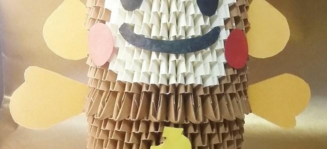 19 3D Origami Monkey