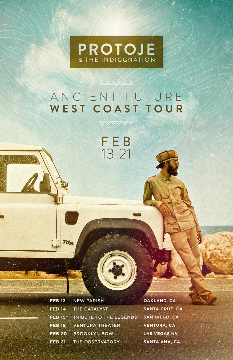 Ancient Future West Coast Tour Dates