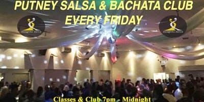 Putney Salsa & Bachata Club every Friday