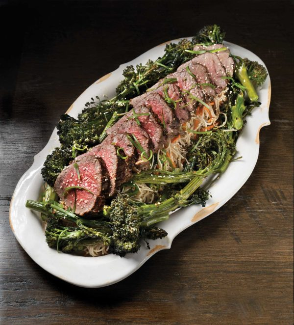 Dinner Party Recipe: Roasted Beef Tenderloin With Spicy ...