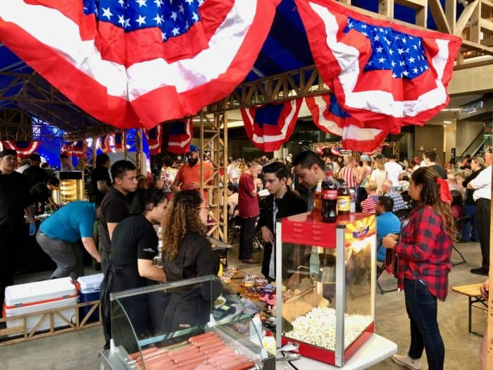 July 4 celebrations in Escazu